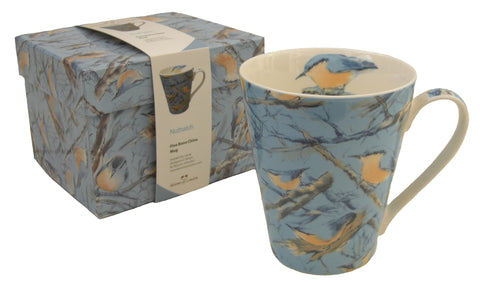Nuthatch mug - Blooms of London - Designs inspired by nature