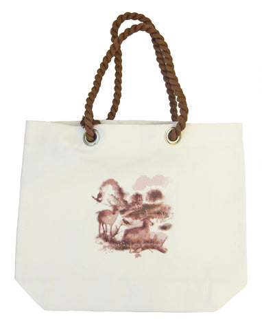 Richmond Park Shopping Bag - Blooms of London - Designs inspired by nature