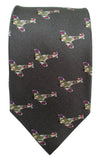 Spitfire print Tie - Blooms of London - Designs inspired by nature