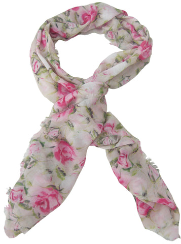 English Rose Design Scarf - Blooms of London - Designs inspired by nature