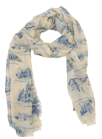 Scotland Design Scarf - Blooms of London - Designs inspired by nature