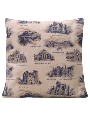 Scotland Design Cushion - Blooms of London - Designs inspired by nature