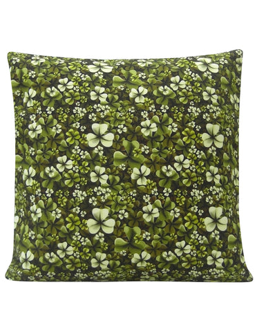 Shamrock Design Cushion - Blooms of London - Designs inspired by nature