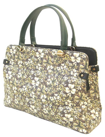 Shamrock Design handbag - Blooms of London - Designs inspired by nature
