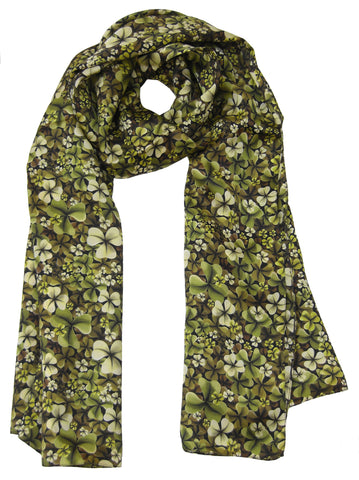 Shamrock Scarf - Blooms of London - Designs inspired by nature