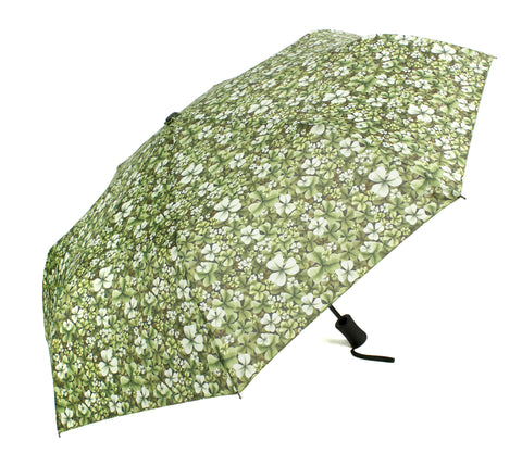 Shamrock Design Umbrella - Blooms of London - Designs inspired by nature