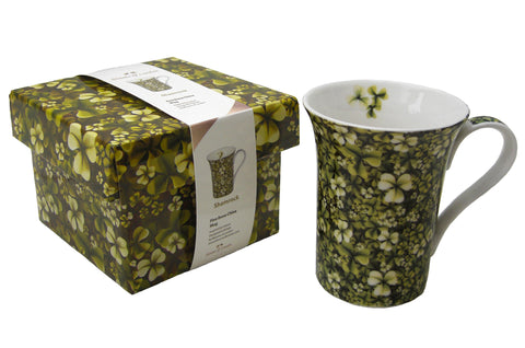 Shamrock design mug - Blooms of London - Designs inspired by nature