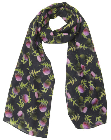 Thistle Scarf - Blooms of London - Designs inspired by nature