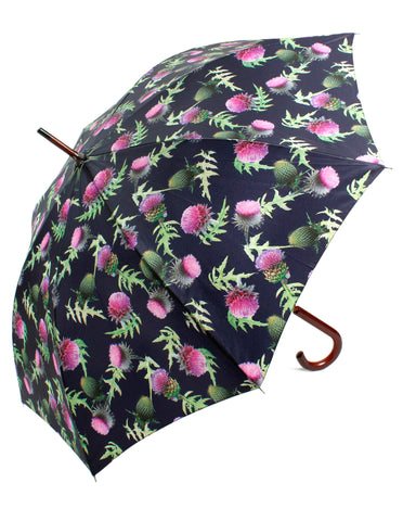 Thistle Design Umbrella - Blooms of London - Designs inspired by nature