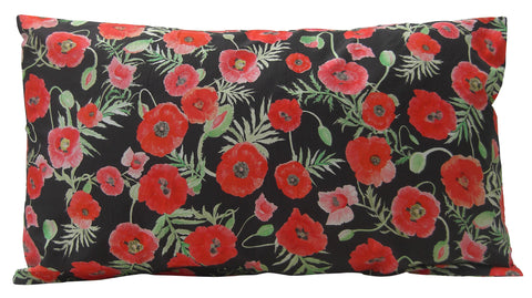 Poppy Design Cushion - Blooms of London - Designs inspired by nature