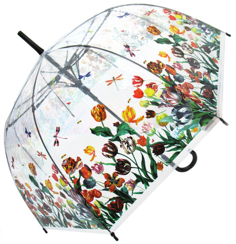 Tulips Transparent Umbrella
