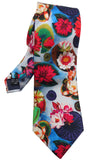 Water Lillies print Tie - Blooms of London - Designs inspired by nature