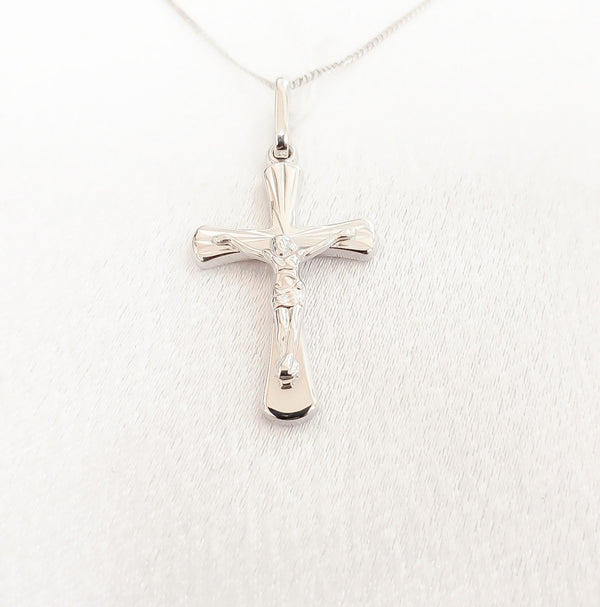 14kt. High Polished Crucifix