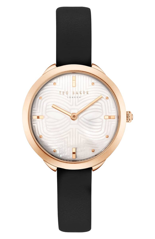 Ted Baker Elena Leather Strap (32mm)