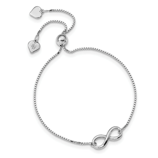 Polished Infinity Adjustable Bracelet