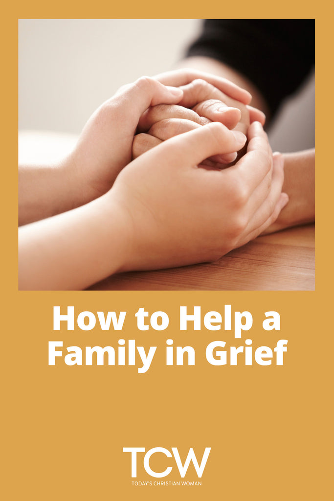 How to Help a Family in Grief
