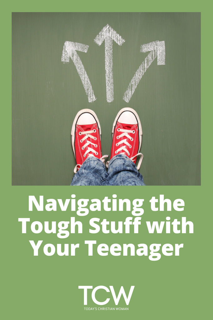 Navigating the Tough Stuff with Your Teenager