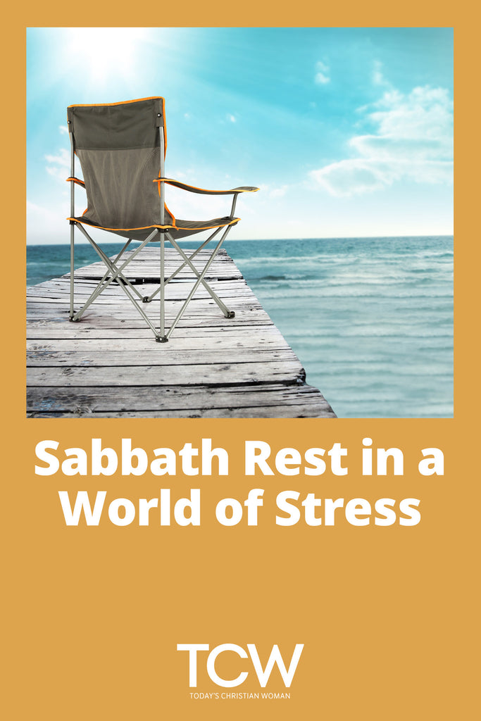 Sabbath Rest in a World of Stress