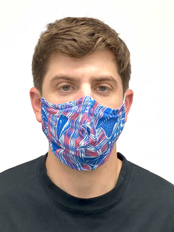 Men's American Billfish American Made Face Mask
