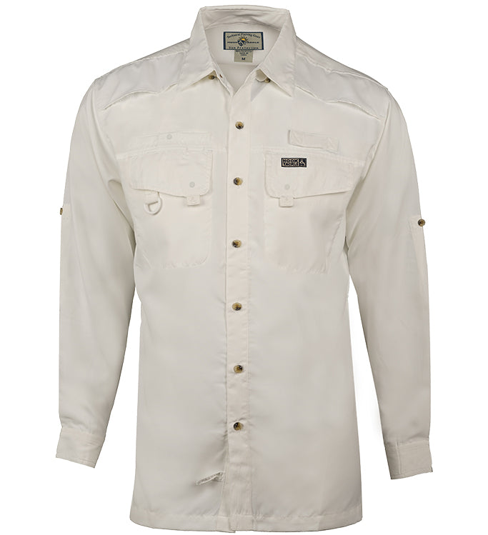 Men's Seacliff L/S UV Vented Fishing Shirt - Hook & Tackle - 1