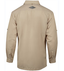Men's Seacliff L/S UV Vented Fishing Shirt - Hook & Tackle - 4