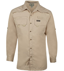 Men's Seacliff L/S UV Vented Fishing Shirt - Hook & Tackle - 3