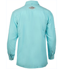Men's Seacliff L/S UV Vented Fishing Shirt - Hook & Tackle - 8