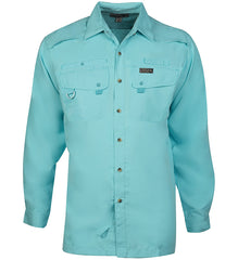 Men's Seacliff L/S UV Vented Fishing Shirt - Hook & Tackle - 7