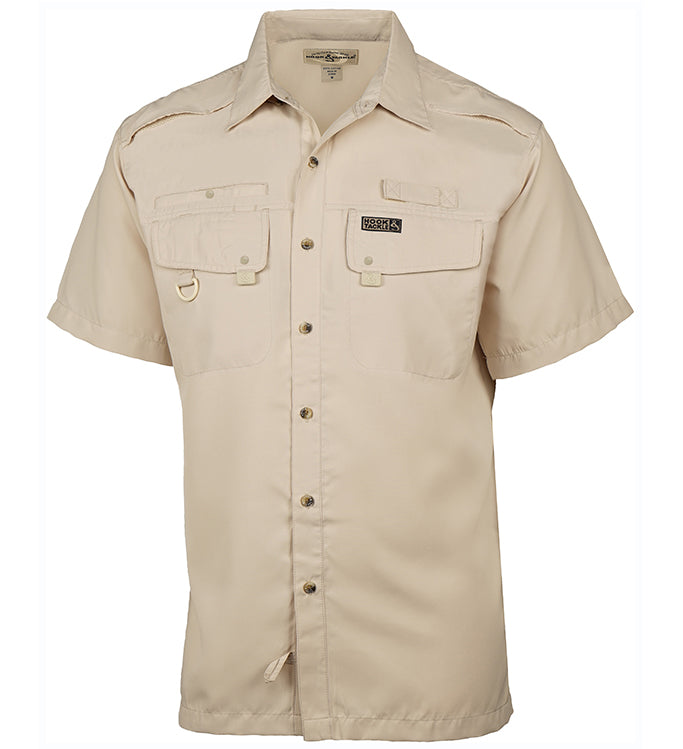 Men's Seacliff S/S UV Vented Fishing Shirt - Hook & Tackle - 5