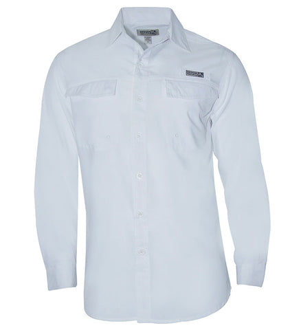 Men's Coastline L/S UV Vented Fishing Shirt