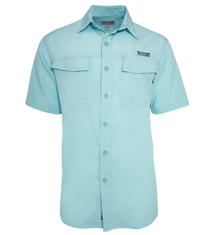 Men's Coastline S/S UV Vented Fishing Shirt