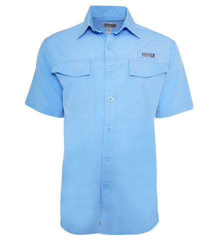 Men's Coastline UV Vented Fishing Shirt (2XL-5XL)