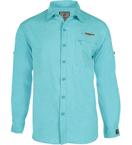 Men's Tamarindo L/S UV Vented Fishing Shirt
