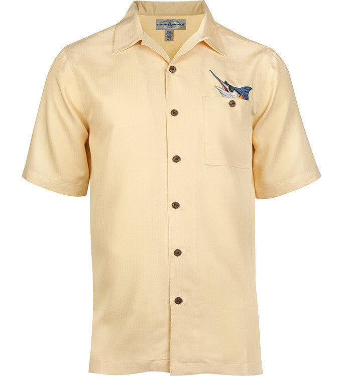 Men 39 s booze brothers shirt for fishing hook tackle for Embroidered fishing shirts