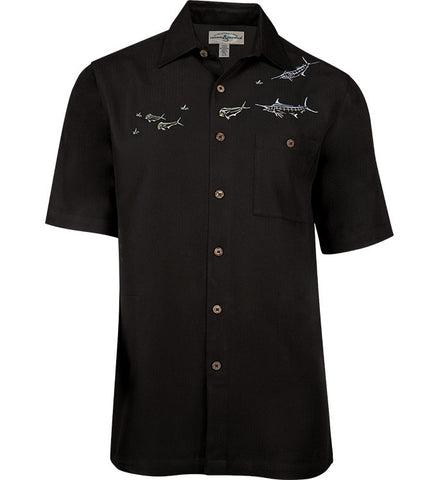 Men's Angler's Delight Embroidered Fishing Shirt
