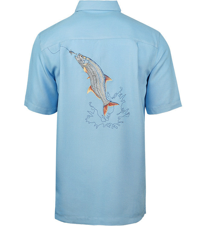 Men's Tarpon Bend Embroidered Fishing Shirt - Hook & Tackle - 1