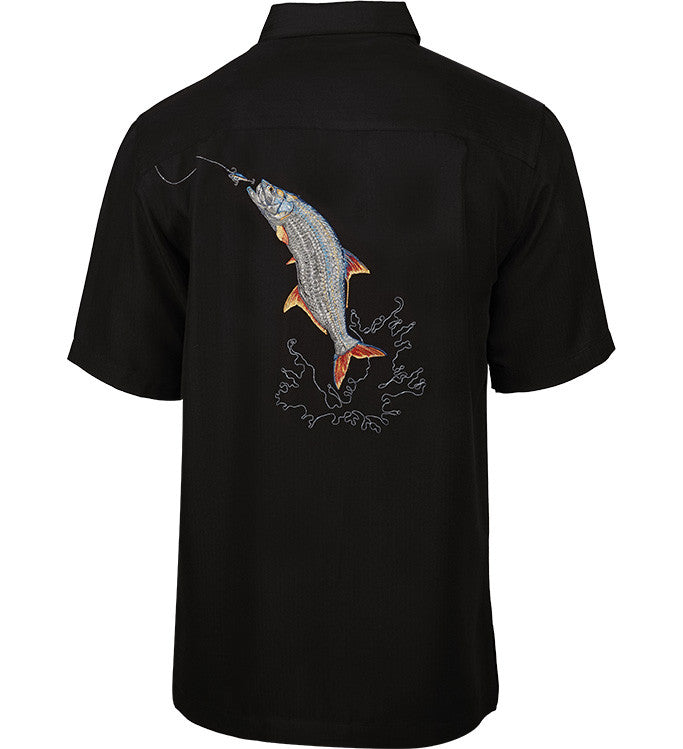 Men's Tarpon Bend Embroidered Fishing Shirt - Hook & Tackle - 3