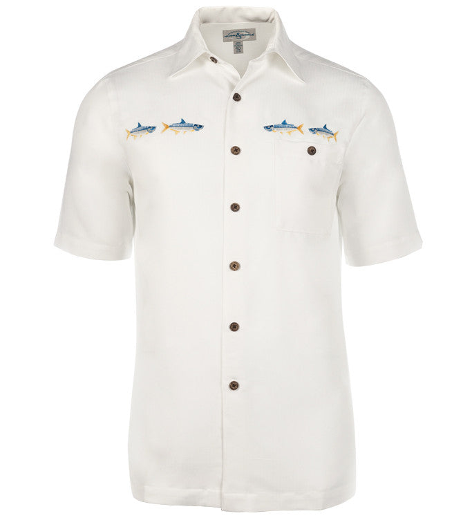 Men's Tarpon Run Embroidered Fishing Shirt - Hook & Tackle - 1