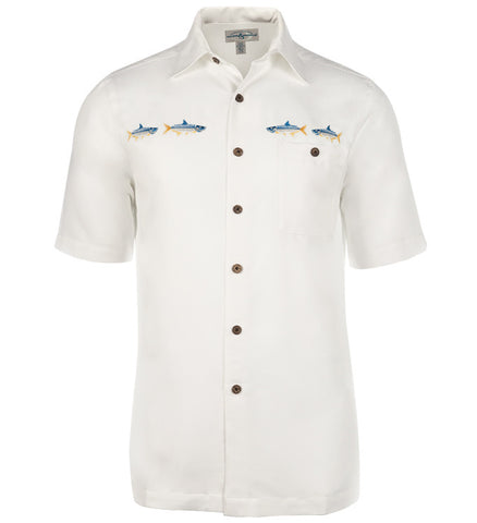 Men's Tarpon Run Embroidered Fishing Shirt