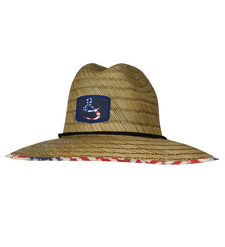 American Lifeguard Stretch Fit Straw Hat 5bb258dcbe28