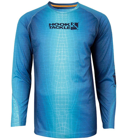 Men's Fractal Skin L/S UV Fishing Shirt