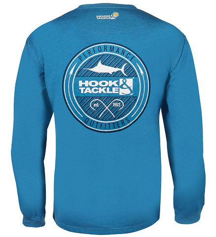 Men's Porthole L/S UV Fishing T-Shirt