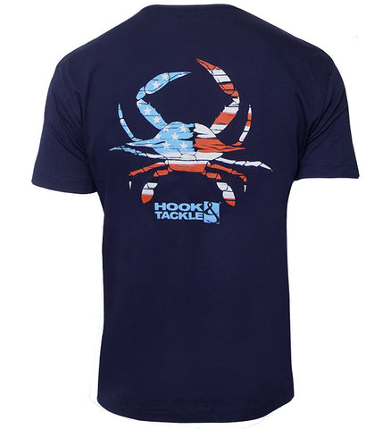 Men's Crabbin USA Premium T-Shirt