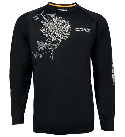 Men's Feeding Frenzy Vented L/S UV Fishing Shirt