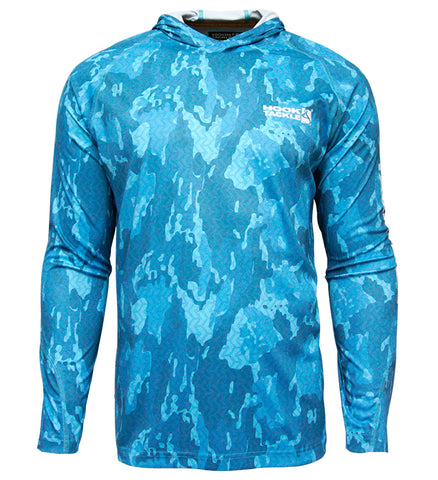 Men's Reef Bay L/S UV Fishing Hoodie