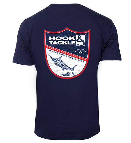 Men's Fish Shield Premium T-Shirt