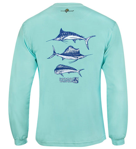 Men's Offshore Trio L/S UV Fishing T-Shirt