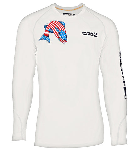 Men's American Striper UV L/S Fishing Shirt