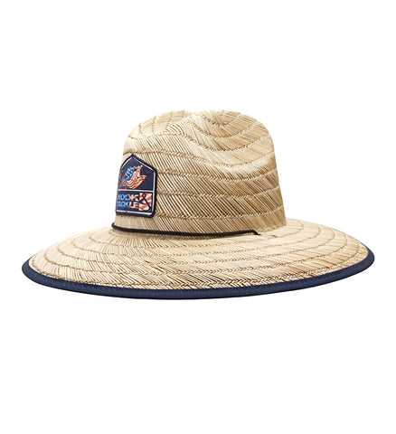 American Bass Straw Hat