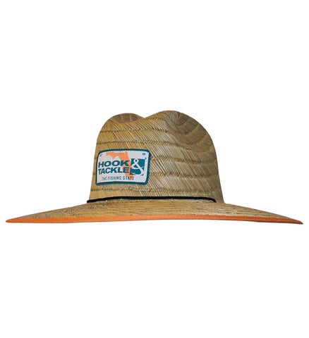 Florida Tag Straw Hat